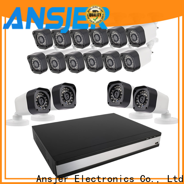 Ansjer cctv durable 720p security camera system manufacturer for office