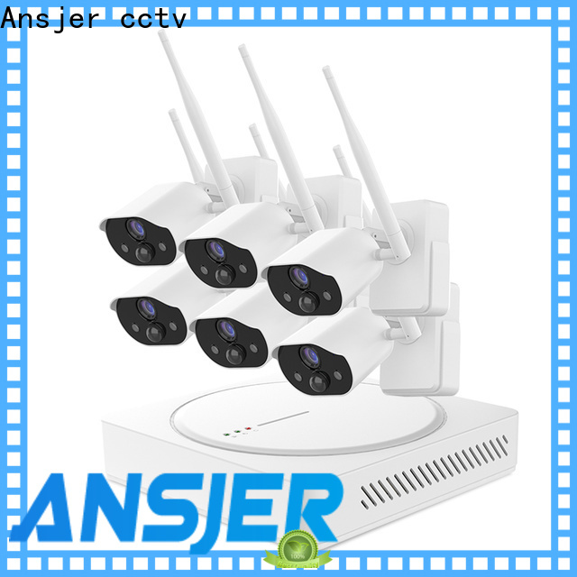 Ansjer cctv night smart home monitoring system series for office