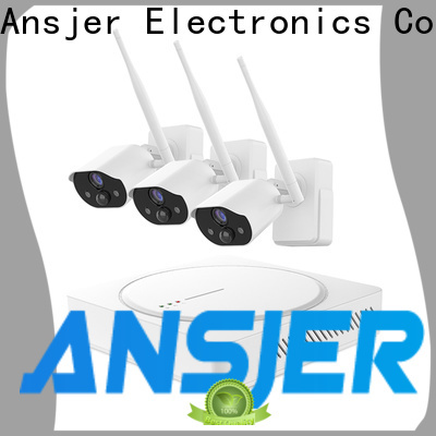 Ansjer cctv channel smart home monitoring system supplier for home