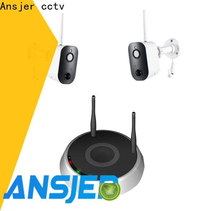 Ansjer cctv powered simply smart home security manufacturer for home
