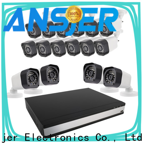Ansjer cctv channel 720p security camera system manufacturer for indoors or outdoors