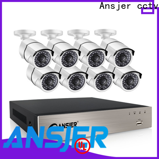 Ansjer cctv ip camera poe 1080p manufacturer for indoors or outdoors