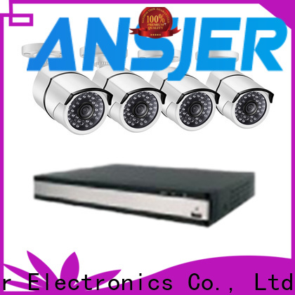 Ansjer cctv durable 1080p poe wholesale for indoors or outdoors