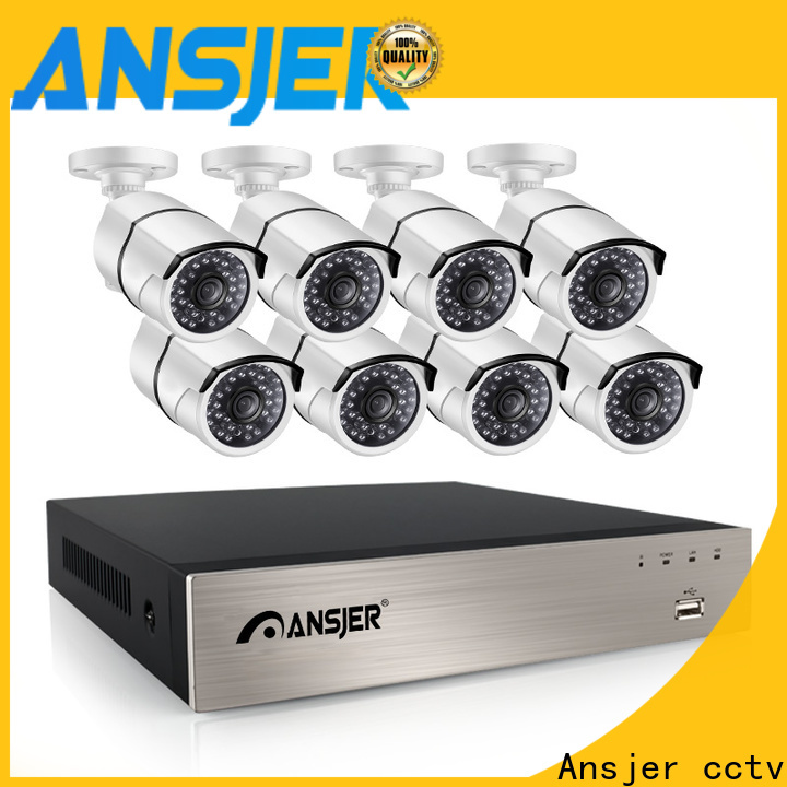 Ansjer cctv vision ip camera 5mp poe supplier for office