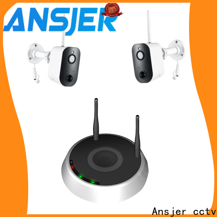 Ansjer cctv thermal smart home monitoring system series for home