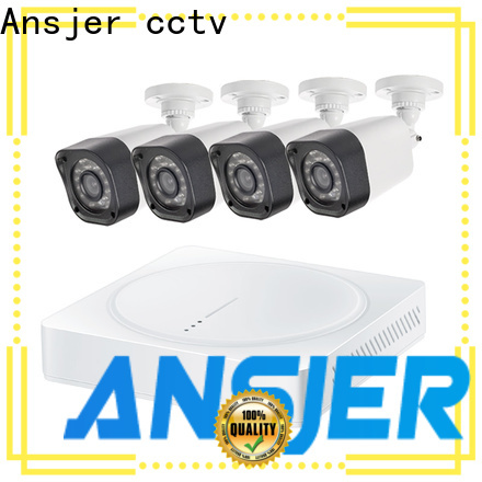 Ansjer cctv electric best 720p security camera system with night vision for home