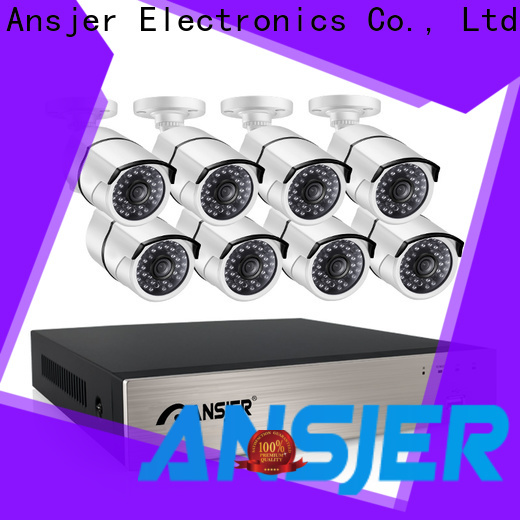 Ansjer cctv vision 5mp poe ip camera supplier for surveillance