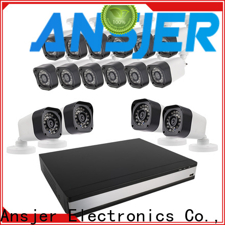 Ansjer cctv email 720p surveillance camera system with night vision for office
