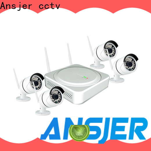 Ansjer cctv internet 2k wireless security camera wholesale for surveillance