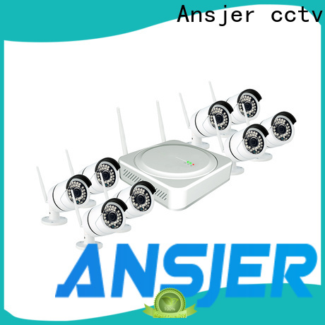 Ansjer cctv app outdoor wireless security camera system wholesale for home