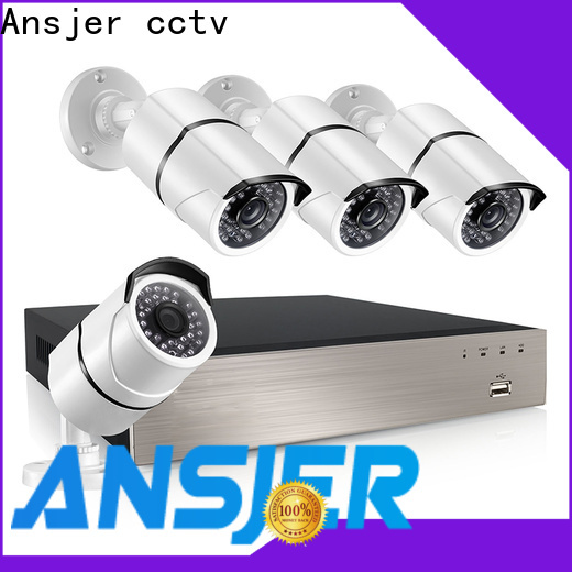 Ansjer cctv cameras nvr 1080p supplier for office