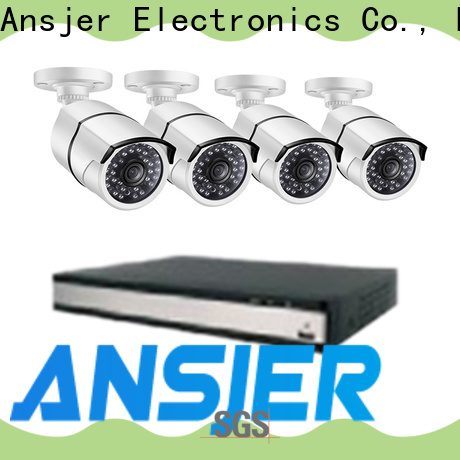 Ansjer cctv high quality 1080p poe camera wholesale for home