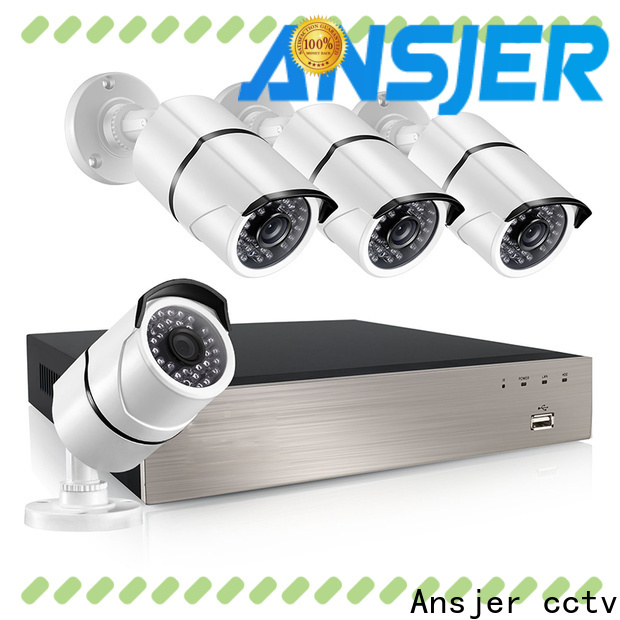 Ansjer cctv cameras 5mp poe supplier for office