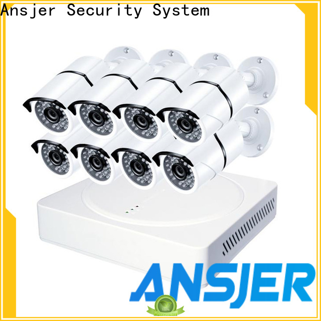Ansjer cctv email best 4k security camera system series for surveillance