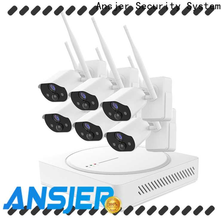 Ansjer cctv powered smart home security system wholesale for office