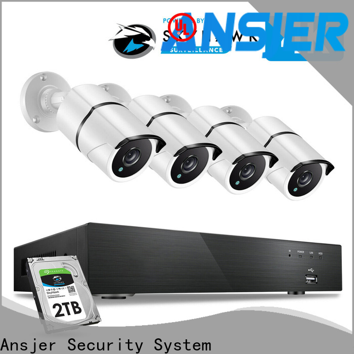 Ansjer cctv durable best 4k security camera system supplier for indoors or outdoors