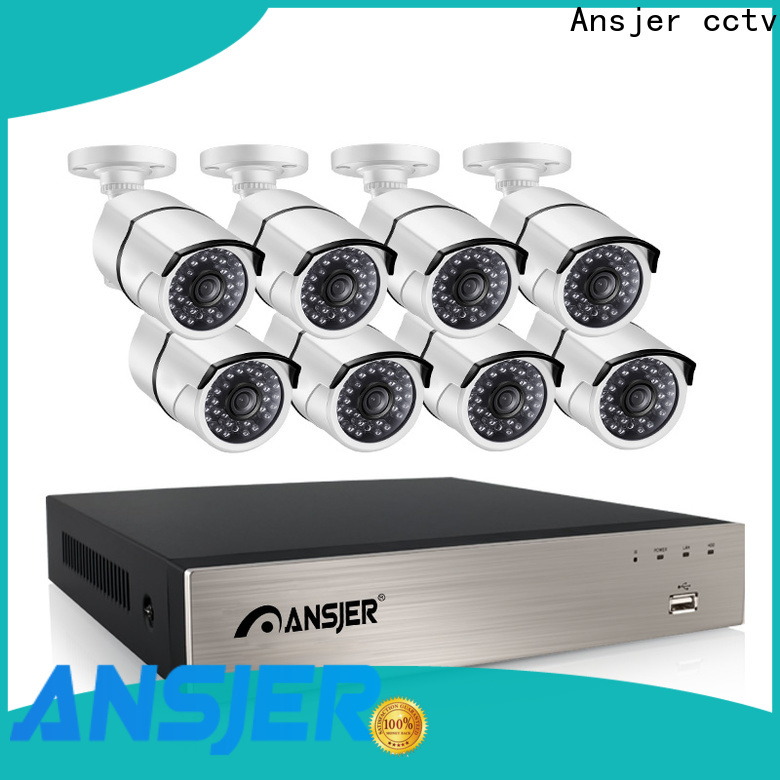 Ansjer cctv high quality 5mp nvr series for office