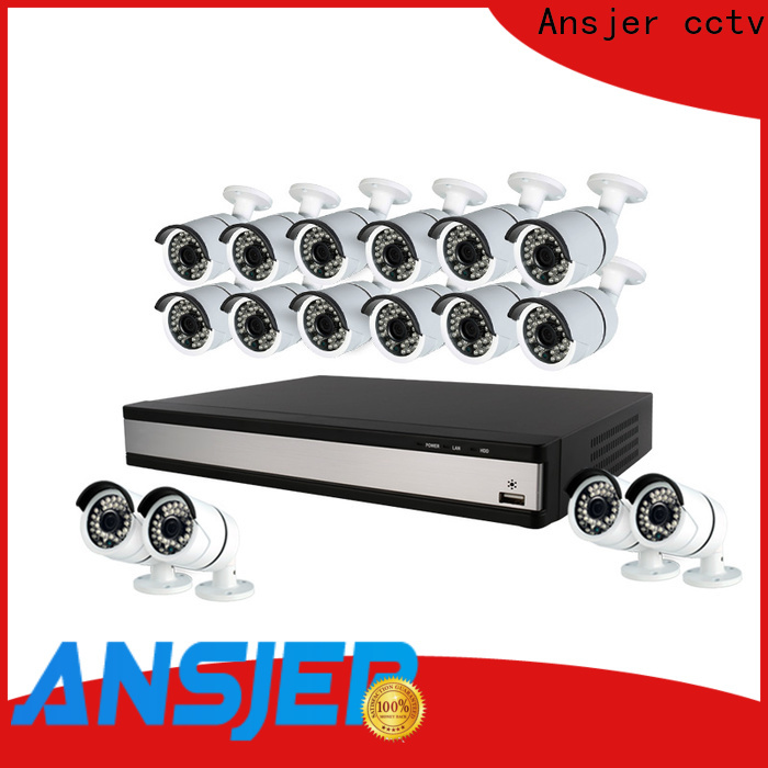 security 1080p cctv camera system alert series for office