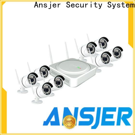 security outdoor wireless security camera system alert series for office