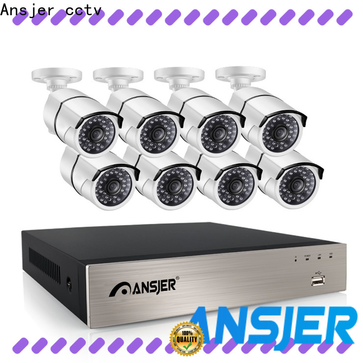 Ansjer cctv nvr 5mp poe manufacturer for office