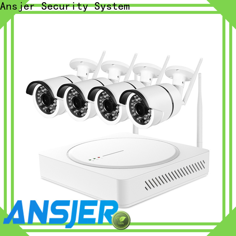 Ansjer cctv recorder 1080p wireless security camera series for indoors or outdoors