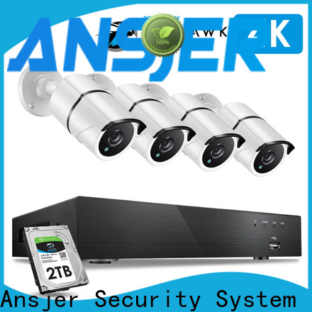 durable 4k video surveillance system viewing series for office