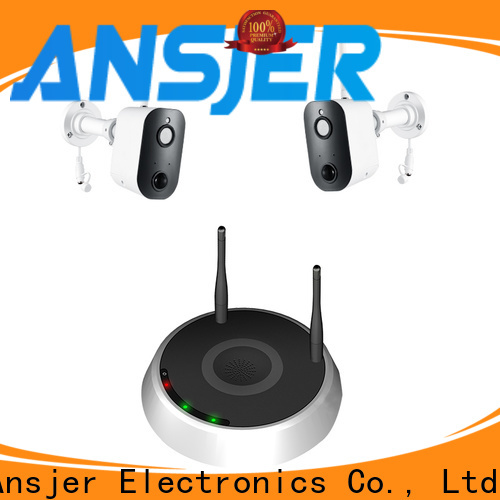 Ansjer cctv channel smart home monitoring system manufacturer for indoors or outdoors