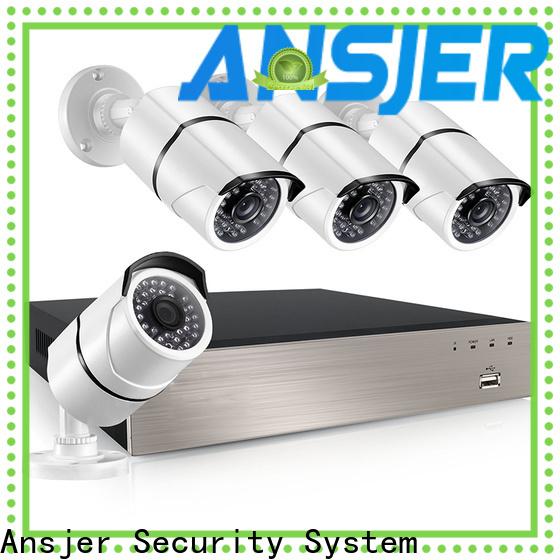 Ansjer cctv alert poe nvr system supplier for surveillance