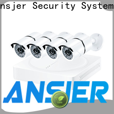 Ansjer cctv high quality 4k surveillance system wholesale for indoors or outdoors