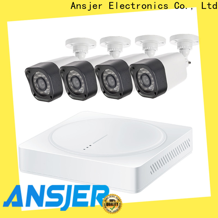 Ansjer cctv durable 720p camera system supplier for indoors or outdoors