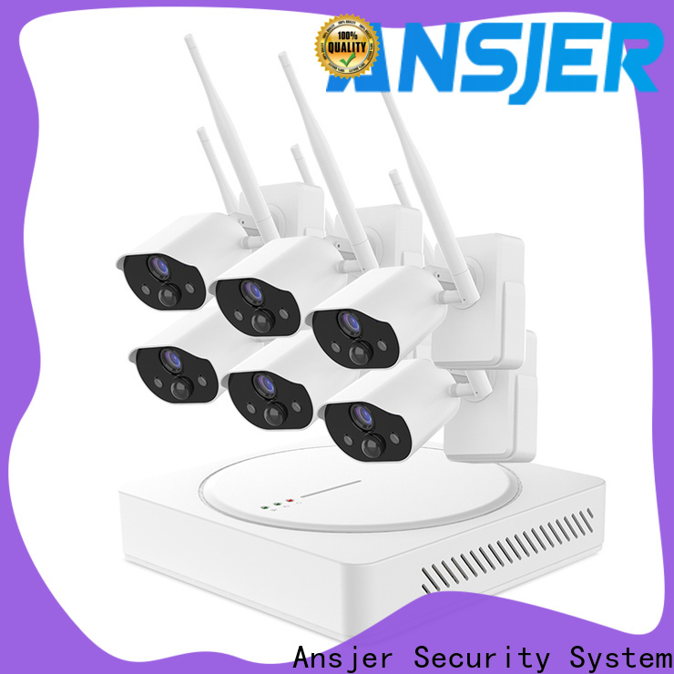 Ansjer cctv durable smart home surveillance manufacturer for indoors or outdoors
