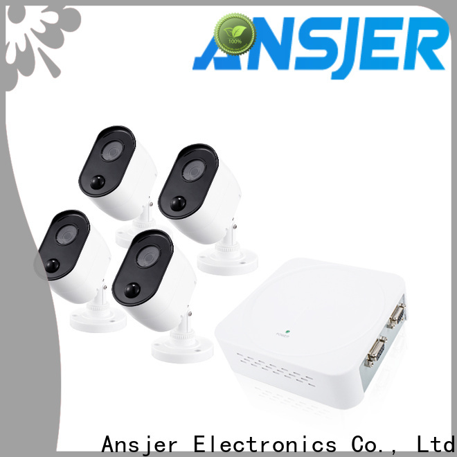 Ansjer cctv motion best 1080p security camera system supplier for indoors or outdoors