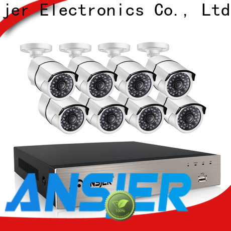 Ansjer cctv poe security camera system 1080p manufacturer for office