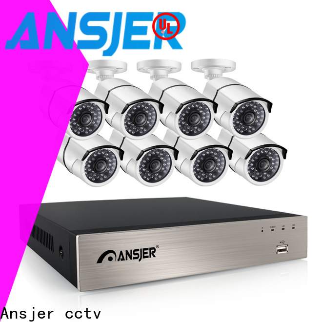 Ansjer cctv vision poe nvr system supplier for surveillance
