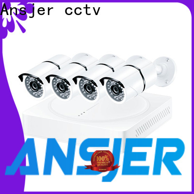 Ansjer cctv security 4k ip camera system series for office
