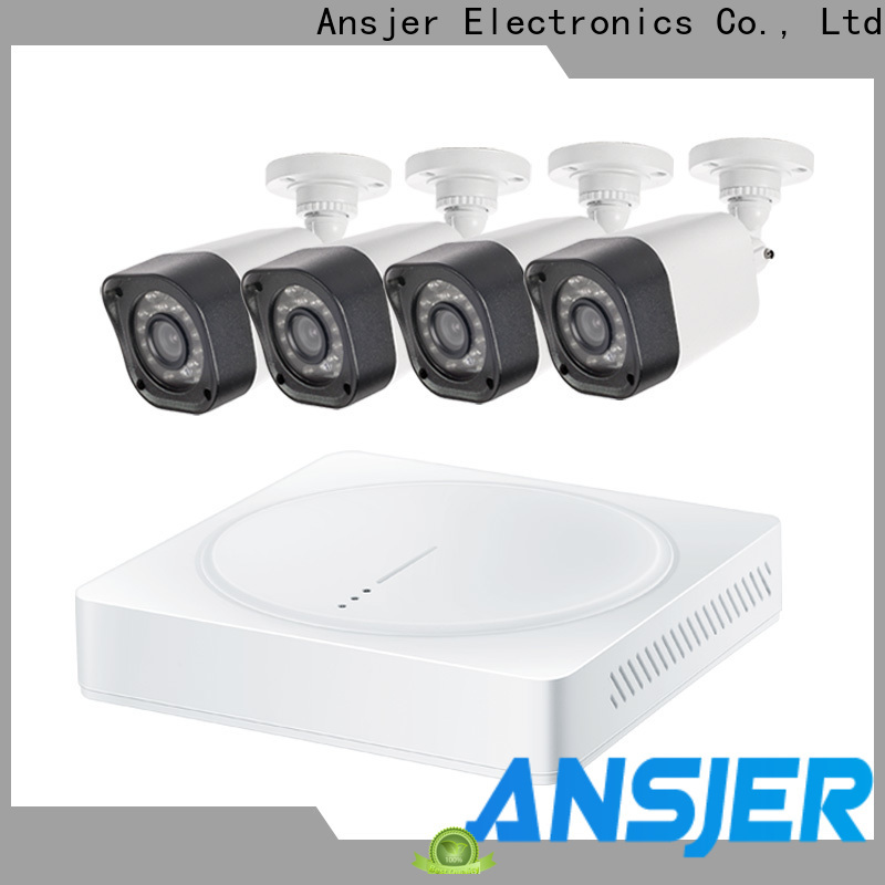 Ansjer cctv 720p security camera system wholesale for office