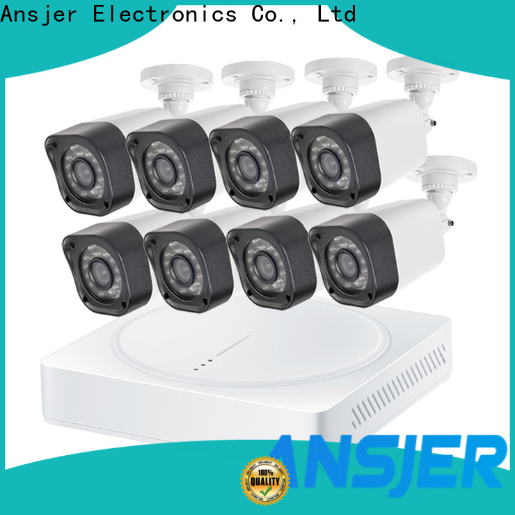 Ansjer cctv kit best 720p security camera system with night vision for office