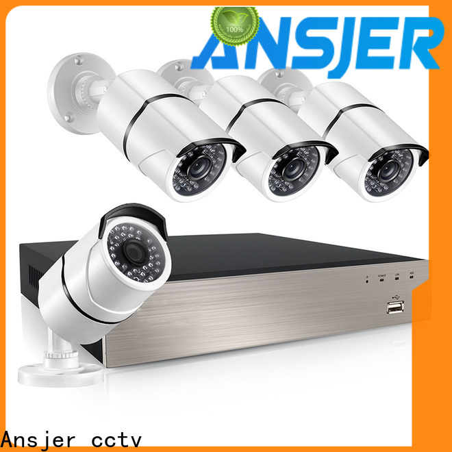 Ansjer cctv durable 5mp poe camera manufacturer for office