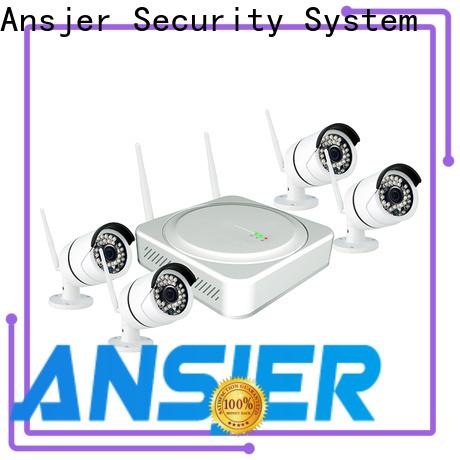 Ansjer cctv wireless wireless surveillance system series for office