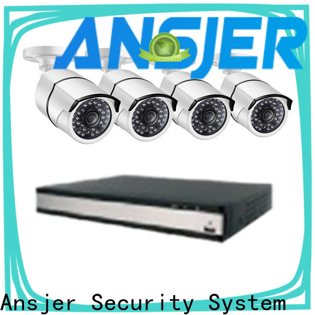 Ansjer cctv durable 5mp surveillance system wholesale for indoors or outdoors