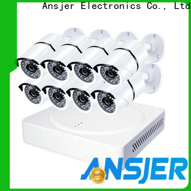 Ansjer cctv alert 4k surveillance camera system wholesale for home