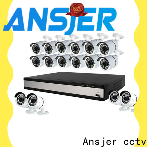 Ansjer cctv electric 1080p hd security camera system series for surveillance