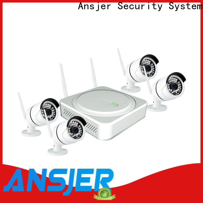 Ansjer cctv viewing best wireless security camera system series for home