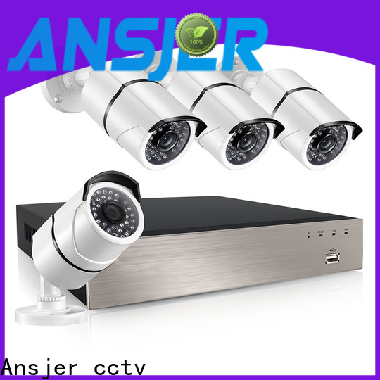 Ansjer cctv high quality poe cctv 1080p manufacturer for home