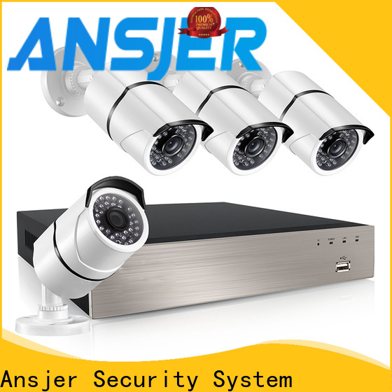 Ansjer cctv security 5mp poe ip camera manufacturer for office