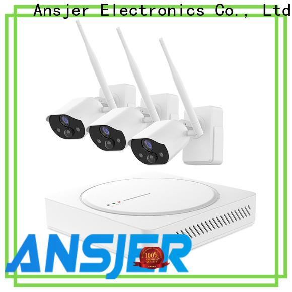 Ansjer cctv audio smart home surveillance manufacturer for surveillance