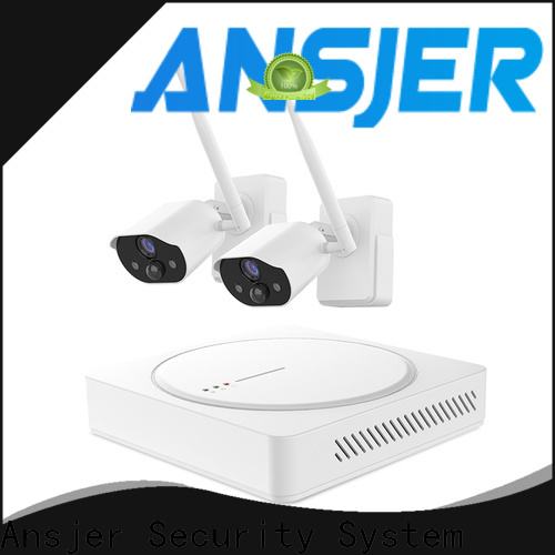 Ansjer cctv powered best smart home security system manufacturer for indoors or outdoors