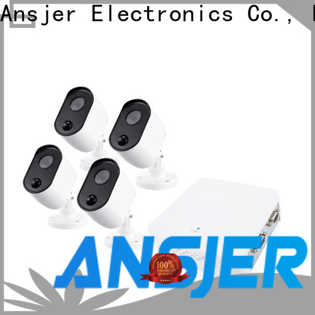 Ansjer cctv electric 1080p hd security camera system manufacturer for home