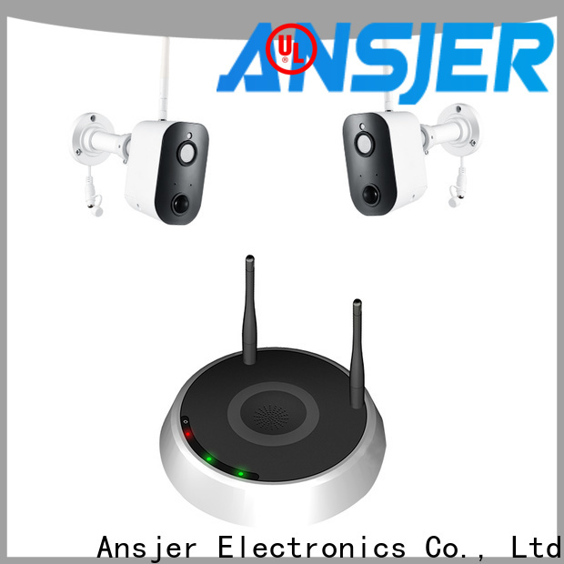 Ansjer cctv security smart home security system series for indoors or outdoors