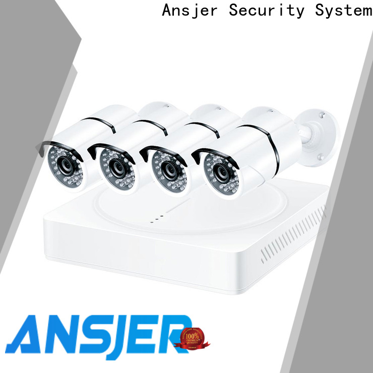 Ansjer cctv durable 1080p security camera system series for office
